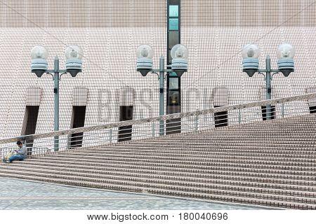 Cultural Centre In Tsim Sha Tsui, Hong Kong