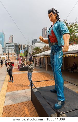 Comic Character At The Avenue Of Comic Stars In Hong Kong