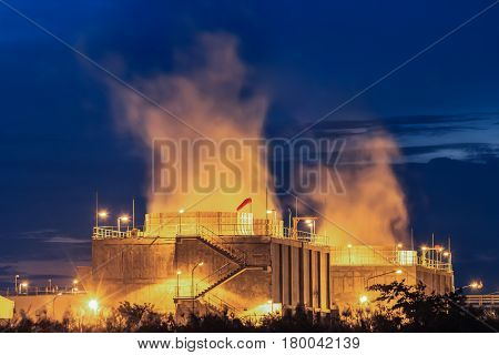 Steam cooling tower of gas turbine electric power plant