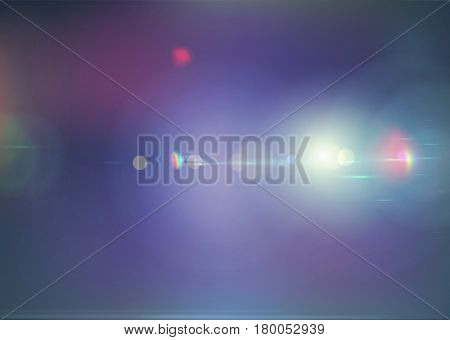 Vector illustration of blue soft colored abstract background