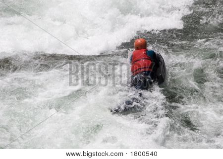 Hydrospeed In White Water