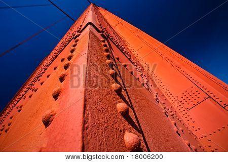 Golden Gate Bridge Tower Detail