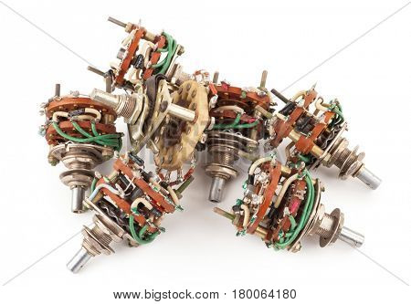 Pile of selector Switch