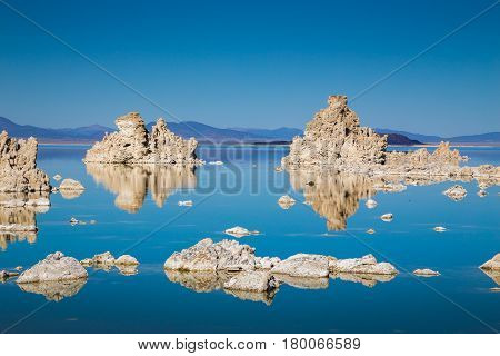 Tufa Formations At Mono Lake, California, Usa