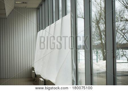 Window Decoration Of Balconies