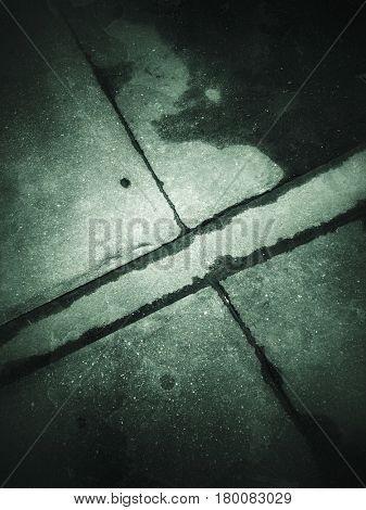 Abstract grunge old dark background with film grain, artifacts and dirt