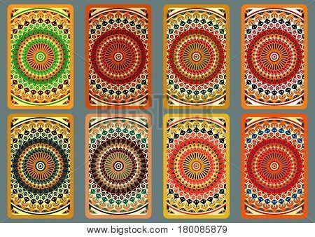 Set Ethnic Business Cards 5.eps