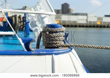 Detail Of A Fishing Boat
