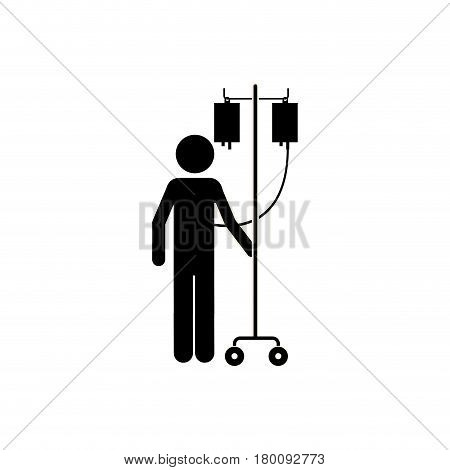 blood donation transfusion people, vector illustration design