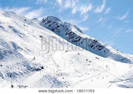 Mountain Winter View (chamonix, France)
