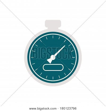 chronometer time isolated icon vector illustration design