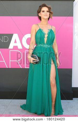 LAS VEGAS - APR 2:  Maren Morris at the Academy of Country Music Awards 2017 at T-Mobile Arena on April 2, 2017 in Las Vegas, NV