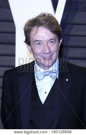 LOS ANGELES - FEB 26:  Martin Short at the 2017 Vanity Fair Oscar Party  at the Wallis Annenberg Center on February 26, 2017 in Beverly Hills, CA