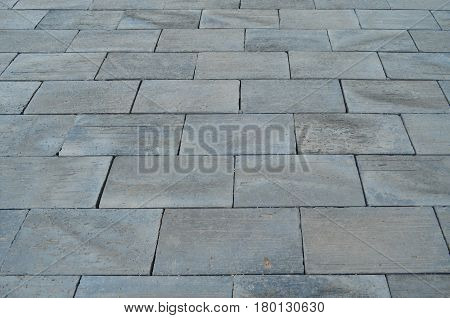 Pattern of gray granite tile floor background