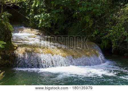 El Nicho Waterfall, In Scambray Mountains. Cuba
