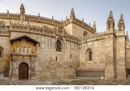 Royal Chapel of Granada (Spanish: Capilla Real de Granada) is a Isabelline style building located in the heart of Granada Spain