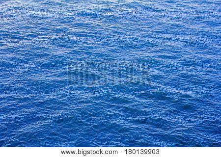 Water Sea Surface blue texture for background