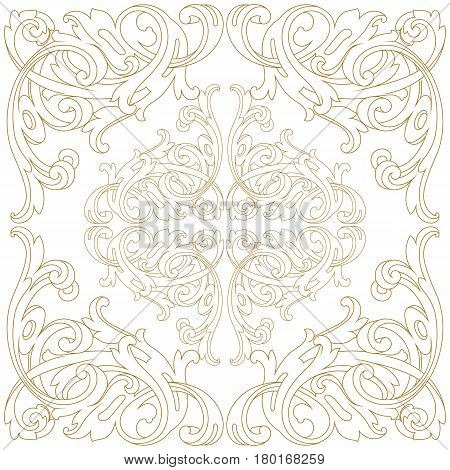 Vintage ornament pattern, border ornament pattern, engraving ornament pattern, ornament ornament pattern, pattern ornament, antique ornament pattern, baroque ornament pattern, decorative ornament pattern. Vector.