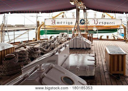 Stern Bridge Deck Amerigo Vespucci
