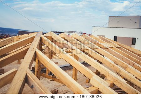 Details Of Construction Building, Timber And Beam Details Of Roof System