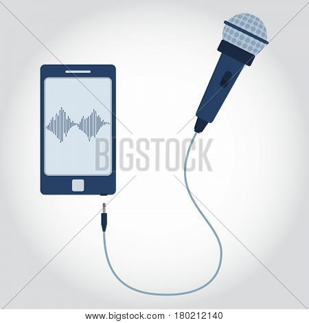 Phone With Microphone