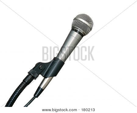 Microphone In Stand