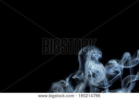 Abstract Smoke On Dark Background