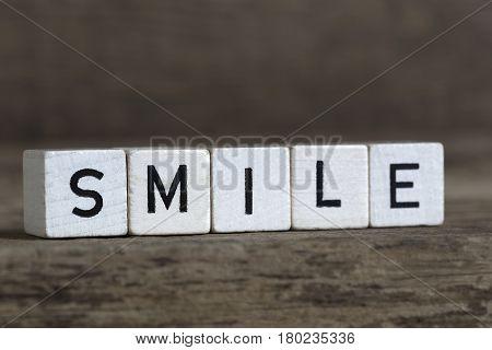 Smile, Written In Cubes