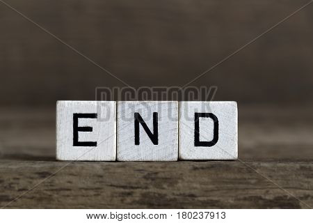End, Written In Cubes
