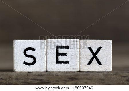 Sex, Written In Cubes
