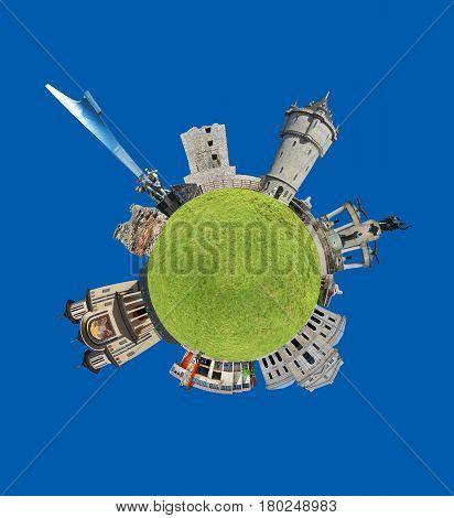 drobeta turnu severin city romania tiny planet