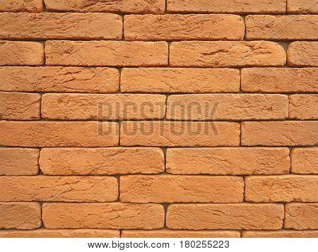 New Red Brick Wall Texture Grunge Background