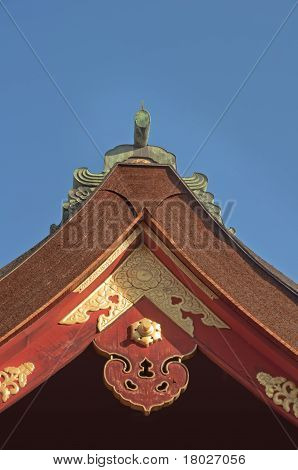 Japan Temple Roof Detail