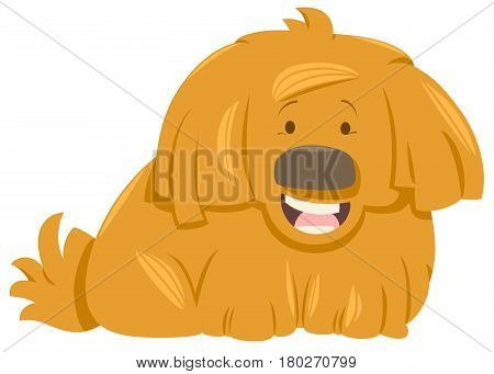 Hairy Dog Animal Character