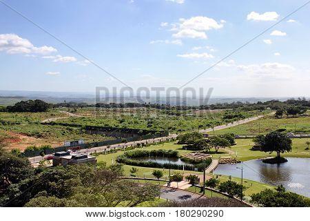 View from Protea hotel Umhlanga Ridge Durban