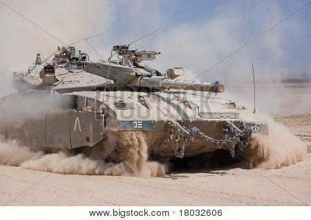 Merkava Tank Of The Israeli Defence Force