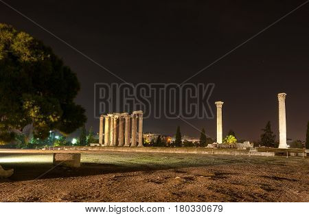 The Temple Of Zeus Olympian