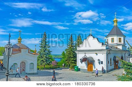 The Lower Part Of Kiev Lavra