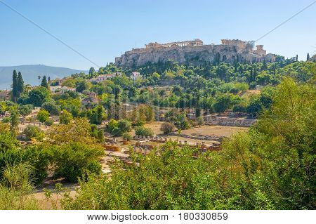 Archaeological Sites Of Athens