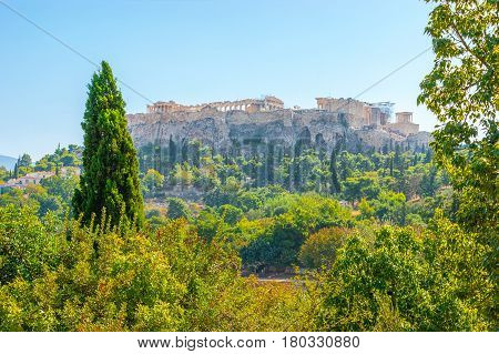 The Ruins Of Acropolis