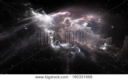 Space star nebula. Space background with nebula and stars