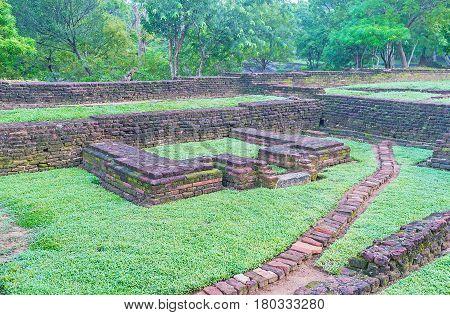 The Sites Of Sigiriya