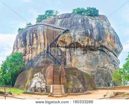 The Gate To Sigiriya Fortress