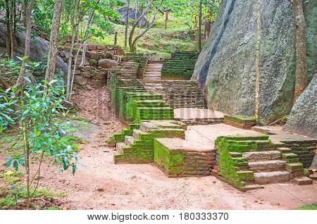 The Stairs At The Rock