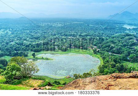 The Tank At Sigiriya Rock