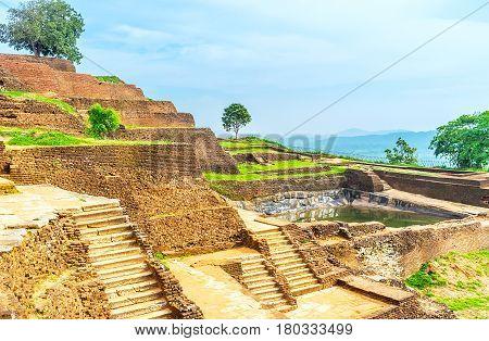 The Upper Palace Of Sigiriya