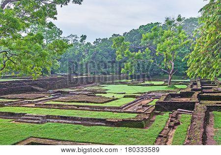 Archaeological Site Of Sigiriya