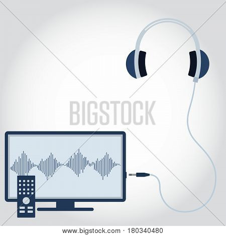 Tv And Headphone