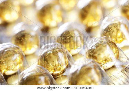 Vitamin E in blister