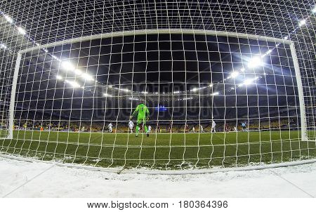 Football Game Fc Dynamo Kyiv V Besiktas